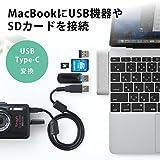 サンワダイレクト Macbook専用 USB Type Cハブ 400-ADR306S