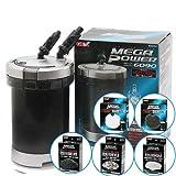 メガパワー 6090 + ろ材5種 お買い得セット 水槽用外部フィルター