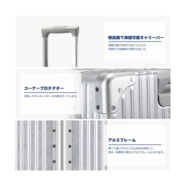 TABITORA(タビトラ) スーツケース メ...の紹介画像4