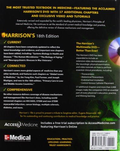 『Harrison's Principles of Internal Medicine, 18th Edition (2-volume set)』の1枚目の画像