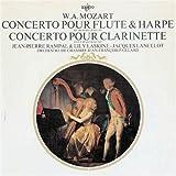 モーツァルト:フルートとハープのための協奏曲、クラリネット協奏曲(再プレス) 画像