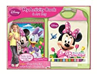 Bendon Disney Minnie Mouse My Activity Book and Messenger Bag by Bendon Inc.