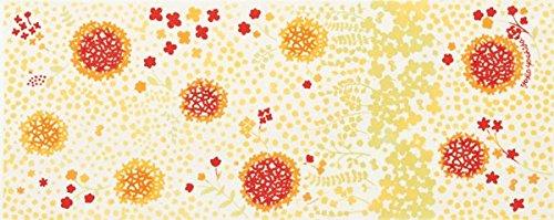 にじゆら 手ぬぐい花の贈り物 小径 黄色