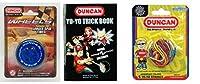 Duncan YoYo Kit - Blue Wheels Yo-Yo, Multi-Color Yo-Yo String 5 Pack, and Yo-Yo Trick Book [並行輸入品]