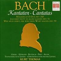 Bach: Cantatas by Bach (1996-09-03)
