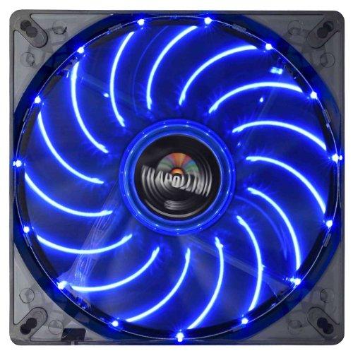 ENERMAX PCケースファン TBアポリッシュ14cm ブルー UCTA14N-BL