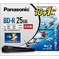 パナソニック == 家電 == / 録画用4倍速ブルーレイディスク片面1層25GB == 追記型 == / 10枚+50GB1枚パック