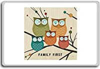 Family First - Motivational Quotes Fridge Magnet - ?????????