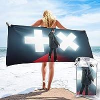 大判 ビーチタオル MARTIN GARRIX 5 家庭用 ビーチタオル 海辺旅行 ビーチ 薄手 軽量 湯上りタオル スボッツタオル 海水浴 バスタオル 旅行タオル 肌触り良い 通気性 プール