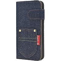 PLATA Galaxy S8 ケース 手帳型 ポケット デニム デザイン ポーチ カバー ジーンズ ギャラクシーs8 DSC02J-63A-A
