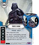 STAR WARS Destiny ( Legendary ) ForceチョークLegendaryカード# 13?& Dice