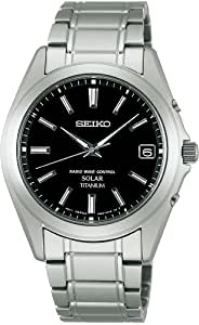 [セイコー]SEIKO 腕時計 SPIRIT スピリット ソーラー電波修正 サファイアガラス スーパークリア コーティング 日常生活用強化防水 (10気圧) チタン SBTM217 メンズ