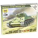 ズベズダ プラモデル 1/100 ソビエト戦車 T-34/76