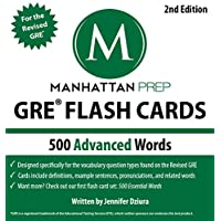 500 Advanced Words: GRE Vocabulary Flash Cards (Manhattan Prep GRE Strategy Guides) (English Edition)