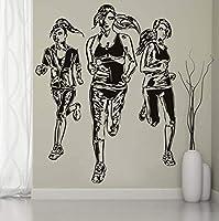 Wxmca キッズガールルームホーム寝室の装飾デカール56×48センチ用ビニールウォールステッカー