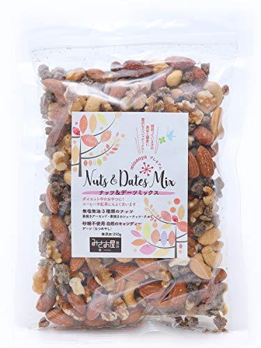 misaoyaプレミアム ナッツ & デーツ ミックス Nuts & Dates Mix 250g ミックスナッツ