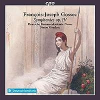 フランソワ=ジョセフ・ゴセック:交響曲集 Op.4