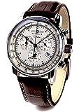 [ツェッペリン]ZEPPELIN ブランド腕時計 ドイツ製 日本製クォーツムーブメント アラーム クロノグラフ Zeppelin100年シリーズ 7680-1 [並行輸入品]