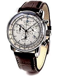 ZEPPELIN(ツェッペリン) 腕時計 ツェッペリン100周年記念モデル アイボリー×ブラウン 7680-1 メンズ [並行輸入品]