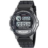Casio Black Digital Sport  W87H-1Vh Watch