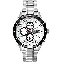 SEIKO セイコー メンズクロノグラフ腕時計 クォーツ sks579 100m防水