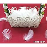結婚披露宴の演出などには必需品! エンジェルシャワー(羽&パール) フェザーシャワー/羽シャワー 1袋で100個