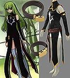 アニメ コスプレ衣装 cosplay 仮装 男女通用 コードギアス反逆のルルーシュ C.C.2 コスチューム CCS069-M