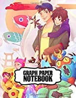 Graph Paper Notebook: Graph Paper Notebook Inexpensive Gifts for Boys and Girls Fantastic Incredible Drawing Photo Art Big Hero 6 Baymax Soft Glossy Graph Paper Notebook with Grid Paper for Math & Science Students 8.5 x 11 in large (21.59 x 27.94 cm)