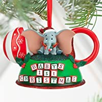 Disney Parks Baby's First Christmas Mickey Mouse Ears Hat Ornament [並行輸入品]