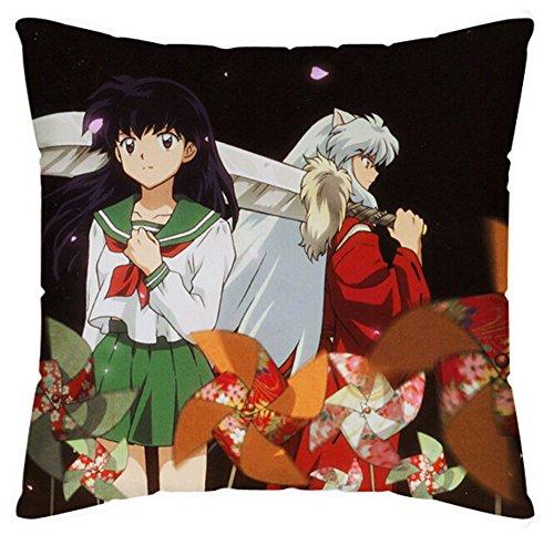 Siawasey Anime犬夜叉漫画Pillowslip枕カバー枕ケースカバー両面45cm * 45cm ( P # 04)