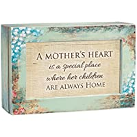 Mothers Heart a Special Place Distressed Wood Jewellery Music Box Plays Tune You Light Up My Life