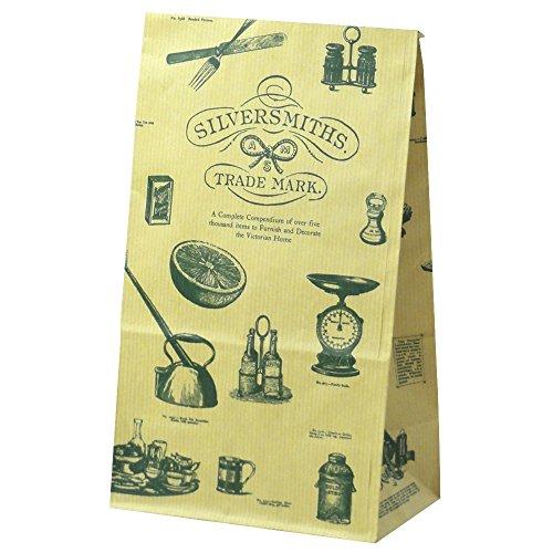 タカ印 ギフトバッグ 50-4209 角底袋 シルバースミス 20枚