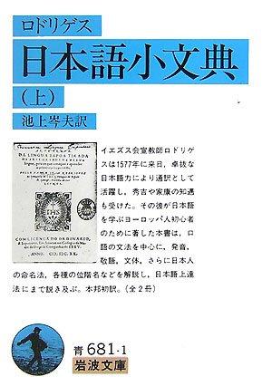 日本語小文典〈上〉 (岩波文庫)の詳細を見る
