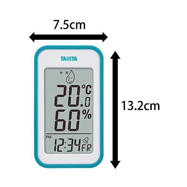 タニタ デジタル温湿度計 置き掛け両用タイプ/...の紹介画像8