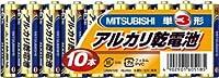 三菱 アルカリ乾電池 単3 (10Px3個セット)