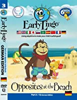 Early Lingo Opposites at The Beach DVD (Part 3 German) [並行輸入品]