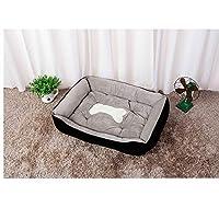 YNuo 犬用ベッド,ケンネル四季ペット巣マットテディ小型犬ミディアムラブラドール犬用品ベッド犬小屋猫用トイレ (Color : Brown, Size : M)