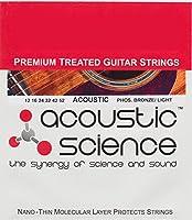 Acoustic Science アコースティックギター弦  Phosphor Bronze ライト LACSAGPB1252