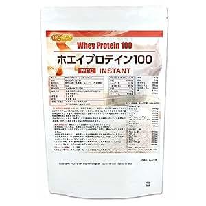 ホエイプロテイン100【instant】1kg [02] プレーン味 造粒品 NICHIGA(ニチガ)