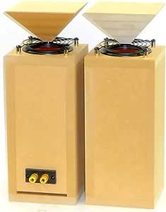 無指向性エンクロージャー組立キット(2台1組) / スリットバスレフ方式/スピーカーユニット別売/WP-SP087MS