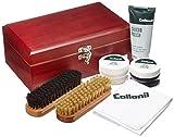 [コロニル] キット Shoe Care Kit 木箱セット 6000 8.8cmx22.8cmx13.8cm CN044002 (MahoganyF)