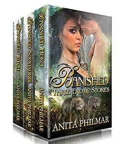 Banished - Three Erotic Shape Shifter Romances by [Philmar, Anita]