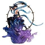 G.E.M.シリーズ remix NARUTO -ナルト- 疾風伝 うちはサスケ 雷神 約180m PVC製 塗装済み完成品フィギュア