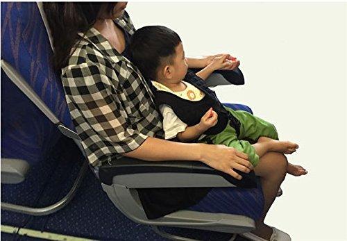 チェアベルト ベビー シート カバー 赤ちゃん乗せシート取り付け簡単 軽量 飛行機 旅行 大人用チェア 室内安全 ブラック