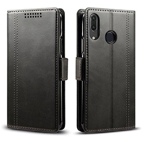 Huawei P20 Lite HWV32 レザーケース (Black)