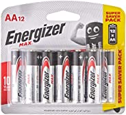 Energizer E91BP12 Max AA 12's (Pack of