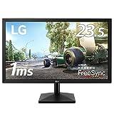 LG ゲーミング モニター ディスプレイ 24MK400H-B 23.5インチ/フルHD/TN非光沢/1ms/FreeSync/HDMI,D-Sub/フリッカーセーフ、ブルーライト低減