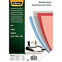 Fellowes PVC Binding Cover A4 180 Microns Clear (Pack of 25)
