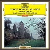 ブラームス:弦楽六重奏曲第1番&第2番