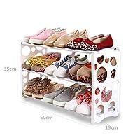 靴ラックマルチレイヤシンプルアセンブリ経済的なホームストレージドミトリーベッドルーム省スペース機能近代的なシンプルな靴キャビネット (色 : B)
